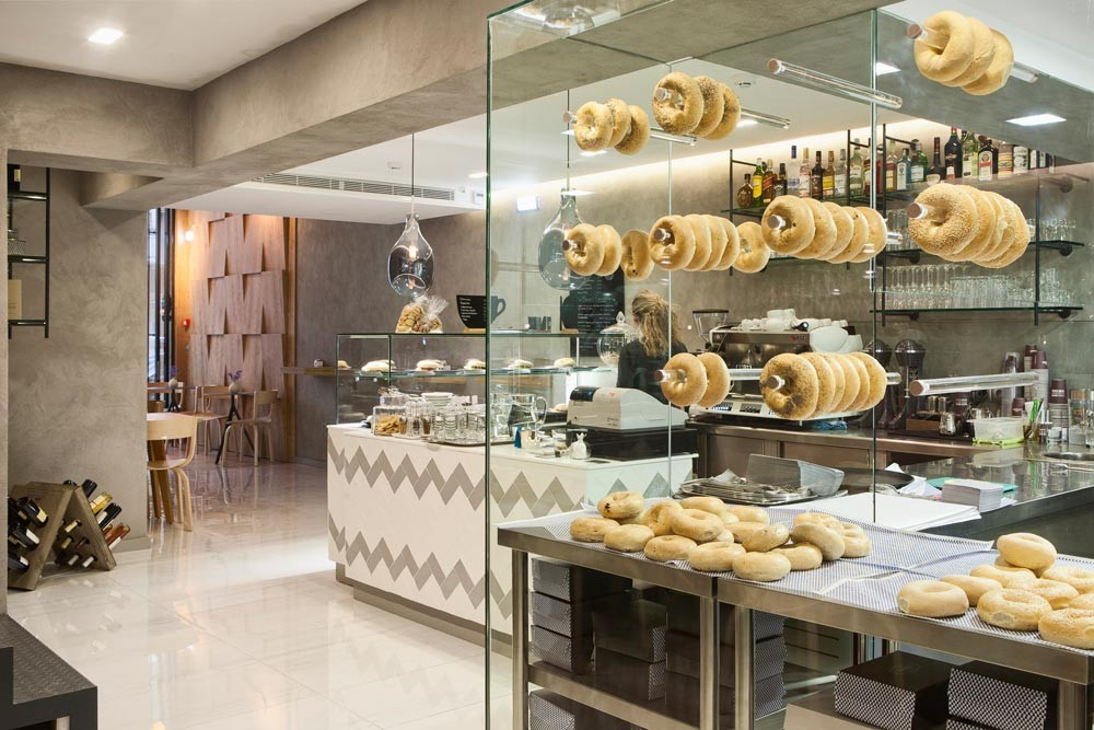 Madeya Bagel Coffee Shop By Angeliki Antonakopoulou The Greek Foundation