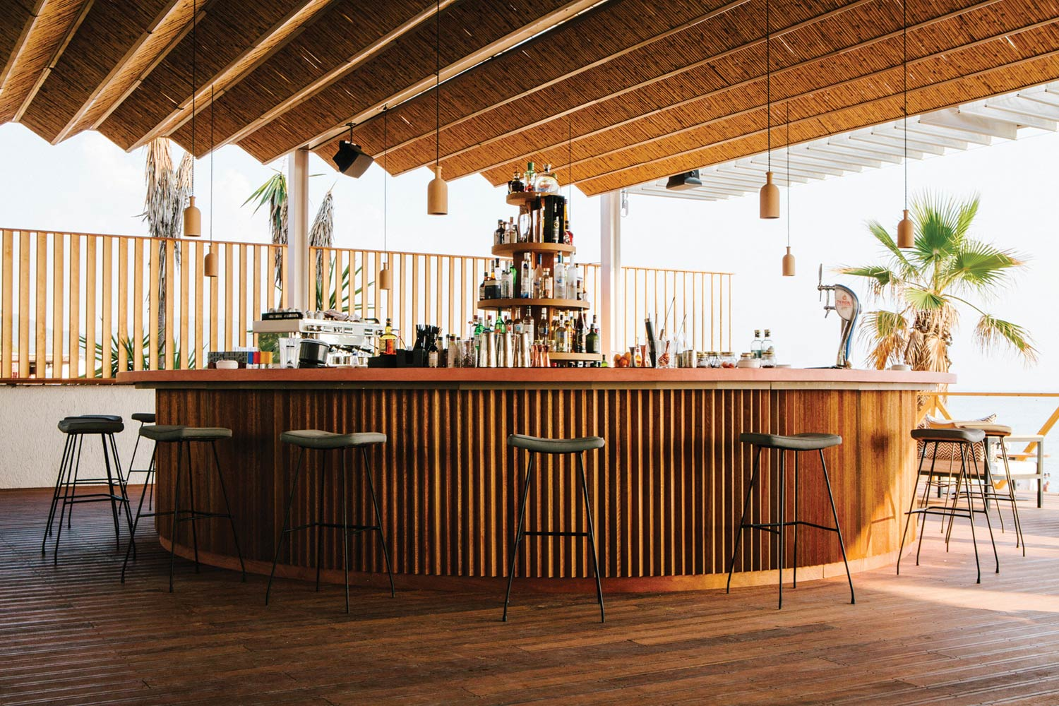 Pazuzu Beach Club And Restaurant By Lot Office For