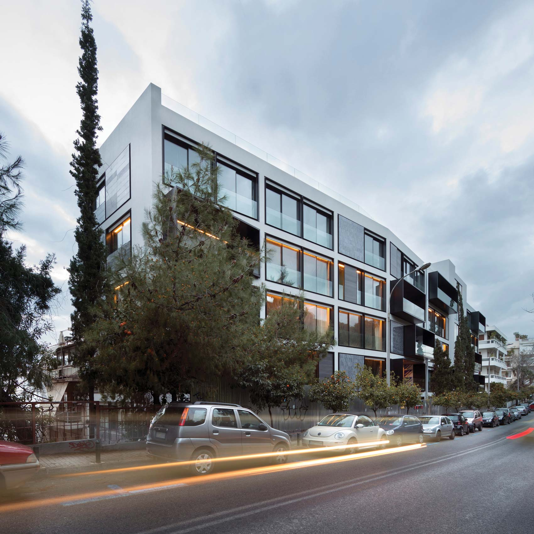 One Athens Apartment Building By Divercity Architects