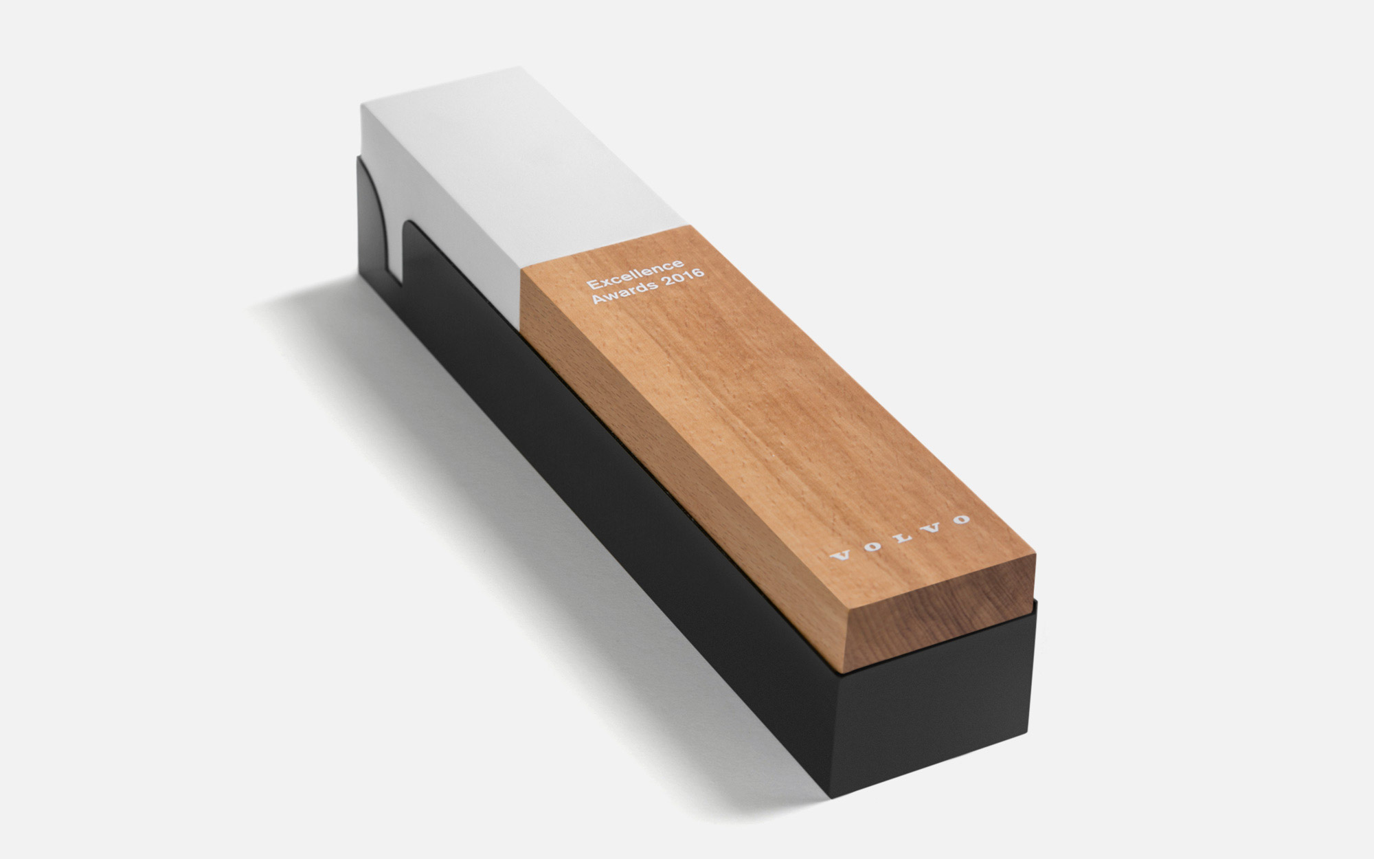 Volvo Excellence Awards Trophy By Semiotik Design Agency