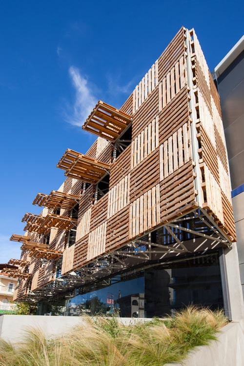 Pallet Offices Store By Klab Architecture The Greek