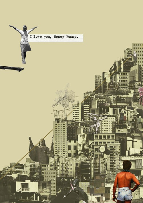 Holland And Holland >> Danai Gkoni's pop-surrealistic collage illustrations - The ...