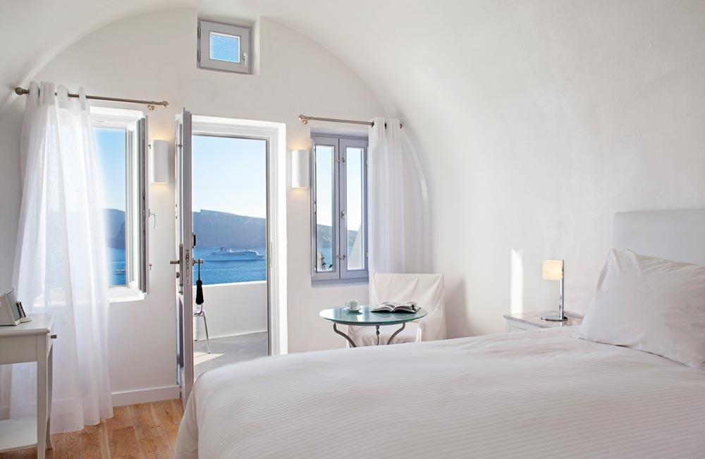 Katikies hotel santorini the greek foundation for Design hotel greece