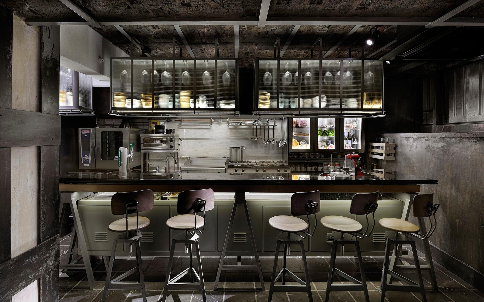 Local espresso bar and restaurant by Karalasos Operaday Architects