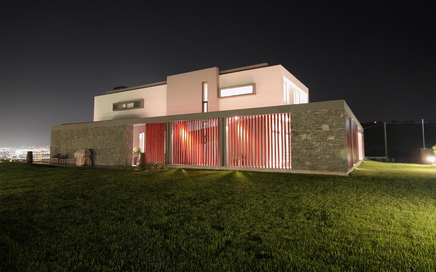 B house by office 25 architects the greek foundation for B house