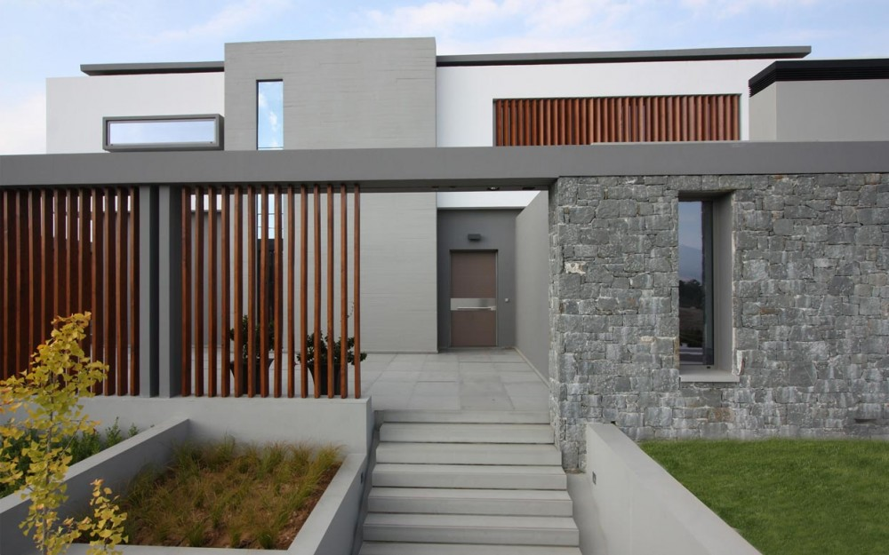 B House By Office 25 Architects The Greek Foundation