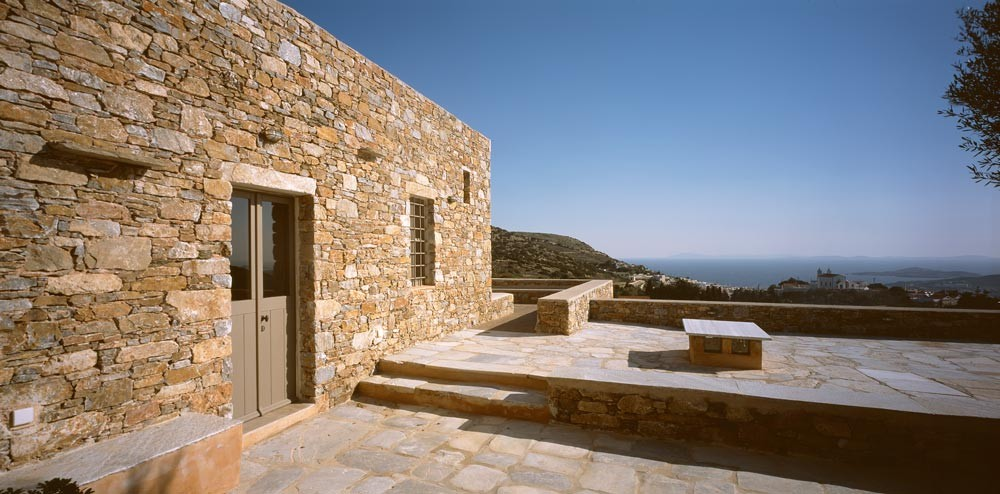 House in Syros by Myrto Miliou Architects The Greek Foundation