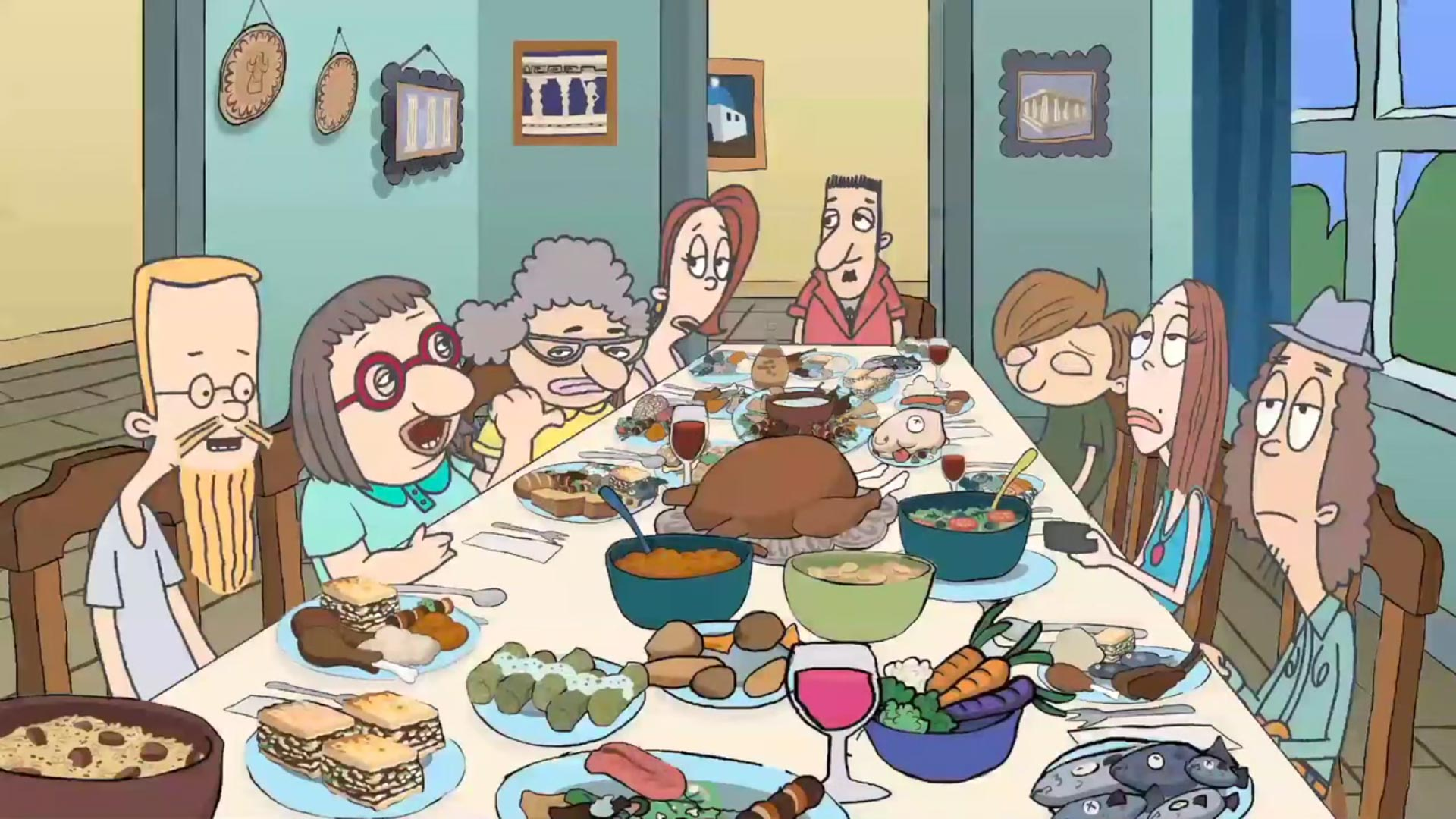 Tom Megalis Creates Animated Comedy Series For The Greek