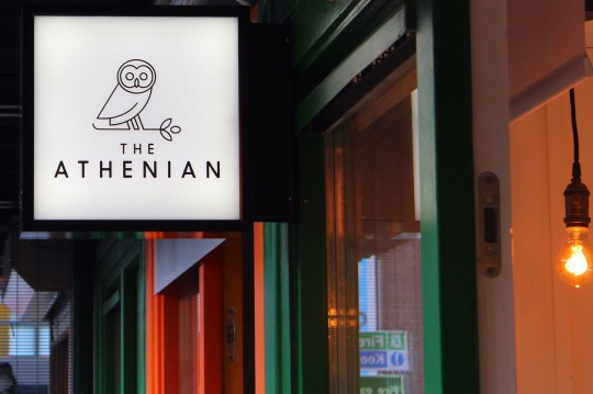 The Athenian in London