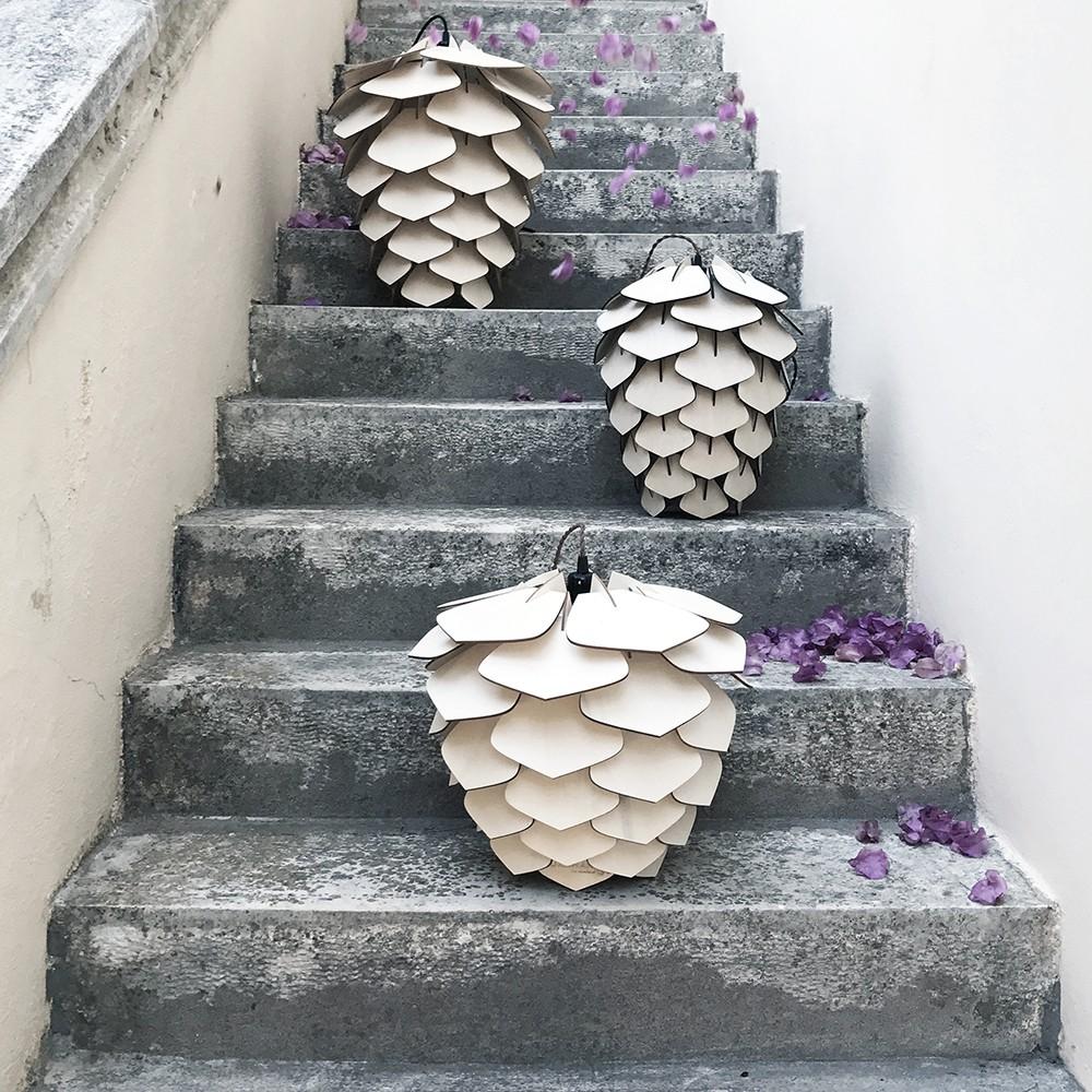 Kukunari Wooden Lamps By Iro Skouloudi The Greek Foundation