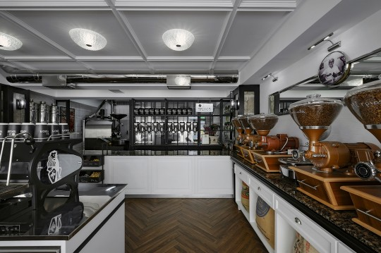 Spinos coffee micro roastery by Andreas Petropoulos
