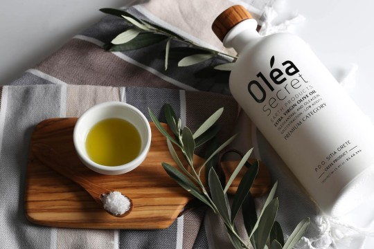 Olea Secret series is inspired by the first Cretan olive grove