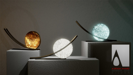 Reverse Pickup Table Lamp by ADD Architectural Studio