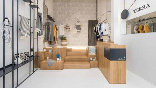 Terra under the sun concept store by Normless studio