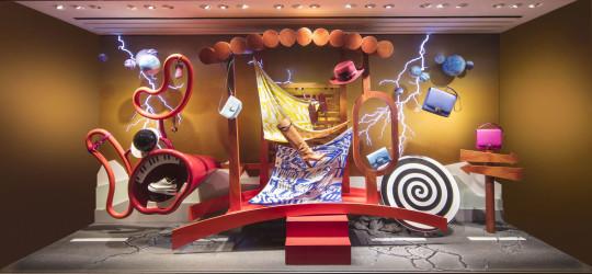 Daydream rapture for Hermès by Fotis Evans