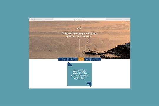Website design for Agios Nikolaos Crete by AG Design