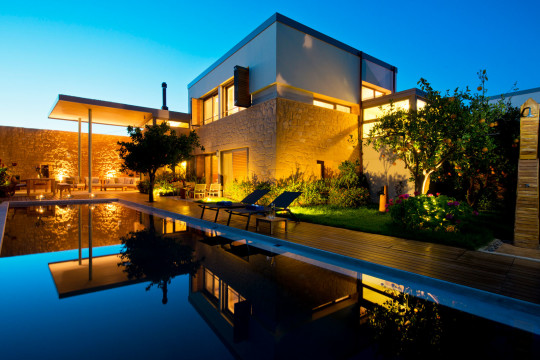 Conte Marino Villas in Chania by A&G Varoudakis architects