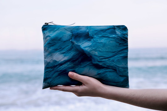 m.k.e textiles inspired by the blue of Aegean sea