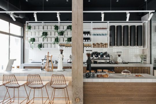 Kofi micro-roastery by vp architectural studio