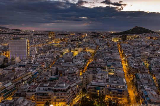 The glorious City of Athens by Alexandros Maragos