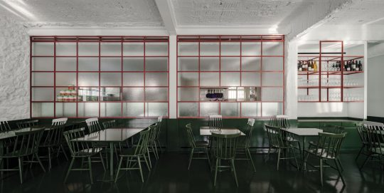 Lollo's Atene Italian restaurant by AK-A architects
