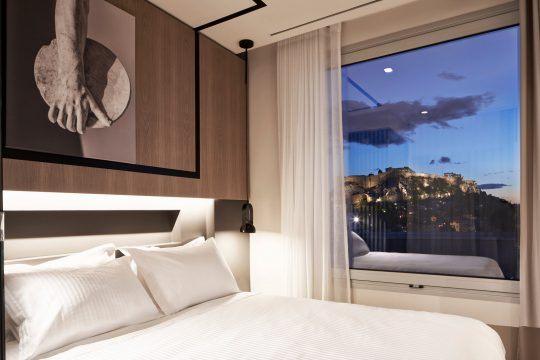 Urban Frame Hotel in the heart of Athens