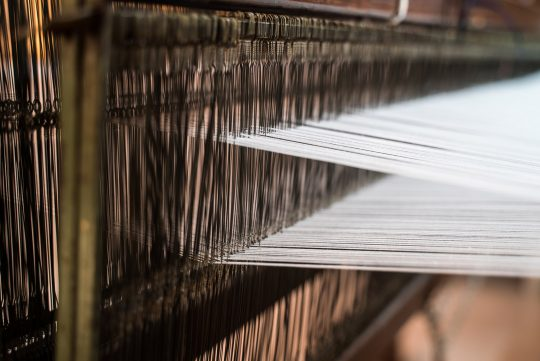 """Klotho"" - The art of weaving re-invented"