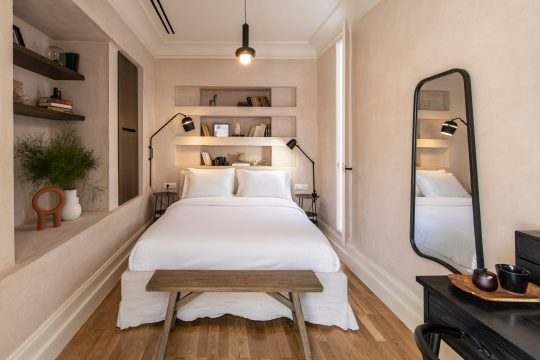 Monsieur Didot: A neoclassical Athens boutique hotel by Babatchas design studio