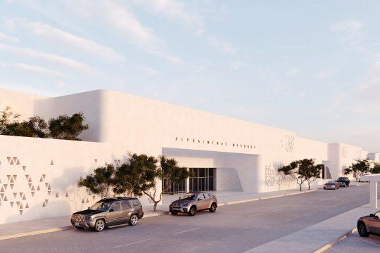 Mykonos Airport (JMK) by K-Studio & BETAPLAN