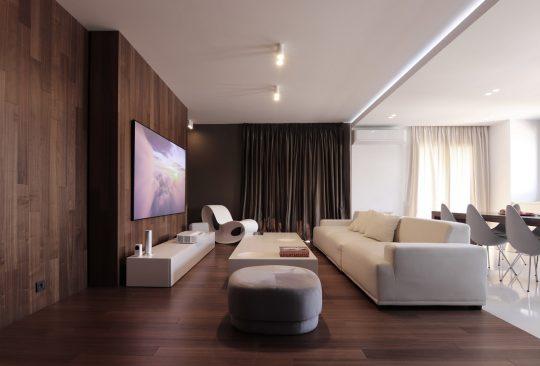 HC loft by KKMK Architects