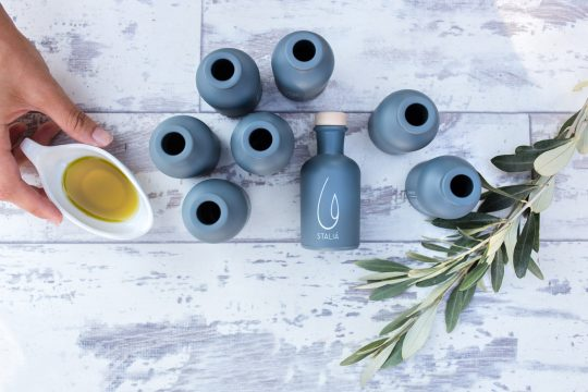 STALIÁ luxury extra virgin olive oil produced in Peloponnese, Greece