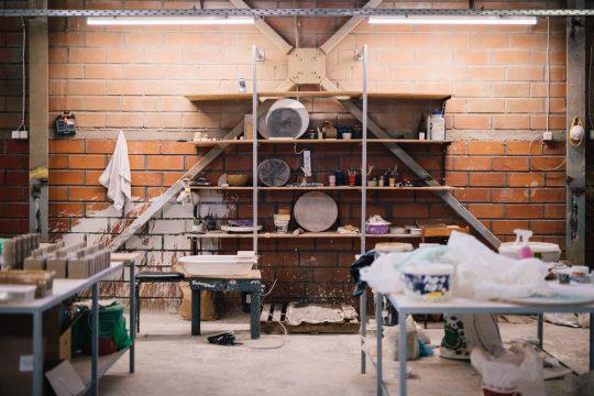 George Vavatsis ceramics studio