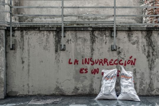 """La insurrección es un…"" photography project by Dimitris Kechris"
