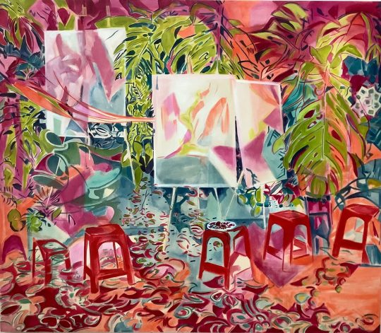 The vibrant imaginary spaces of Emi Avora