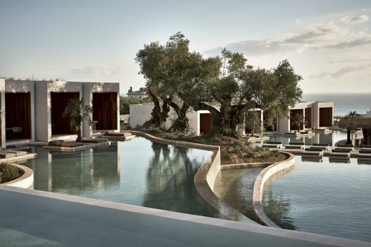 Olea All Suite Hotel in Zakynthos island designed by Block722 architects+