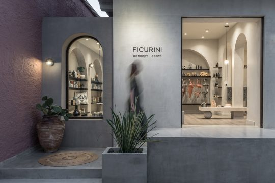 Ficurini Concept Store by Normless architecture studio