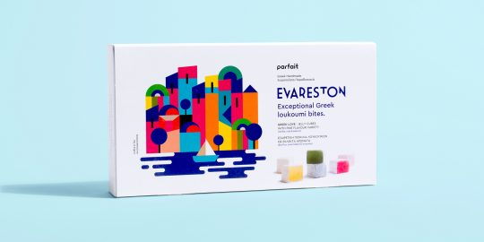 EVARESTON - Greek loukoumi bites by Kemosabe Design Studio