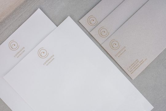 Contessina Suites & Spa visual identity by Regina Souli studio