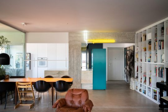 70's apartment renovation by Natalia Bazaiou