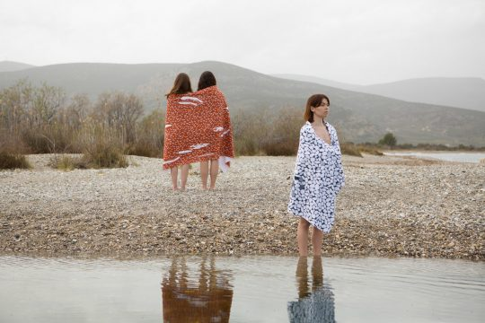 """Peloponnese"" m.k.e textiles SS '20 collection"