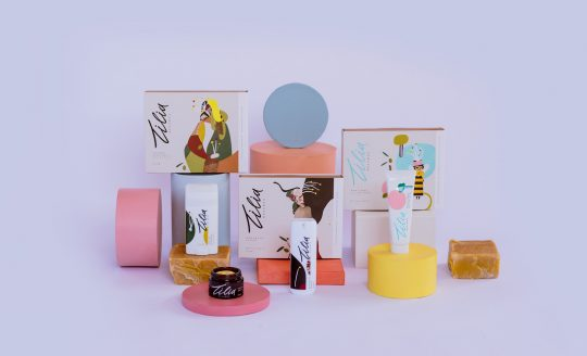 'Tilia' beeswax skincare series made out of nature's purest ingredients