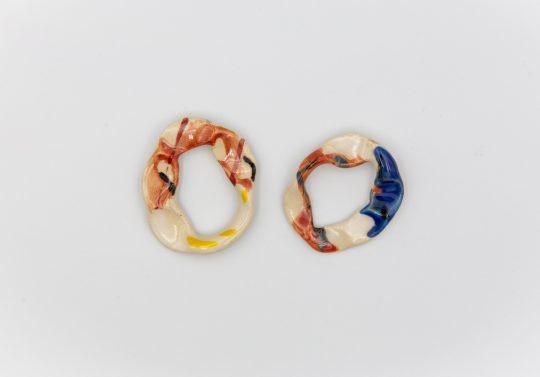 Καρίς ceramic jewellery made in Athens by Ismene King