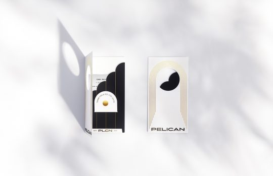Pelican brand identity by Luminous Design Group