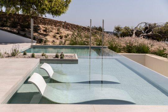 Secret Garden House in Paros island by Scapearchitecture