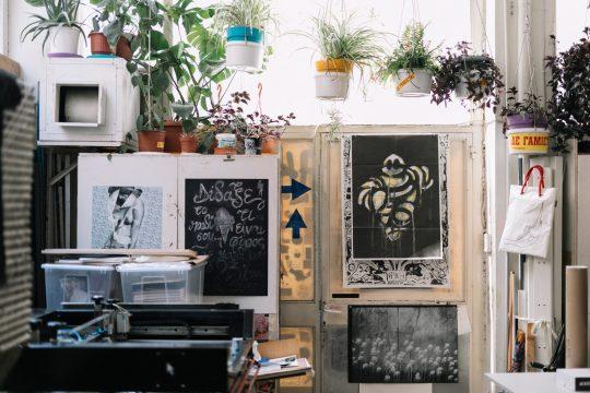 TIND Extraordinaire Silkscreen Printing Studio