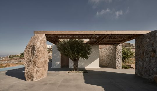 Villa Mandra in Mykonos island by K-Studio