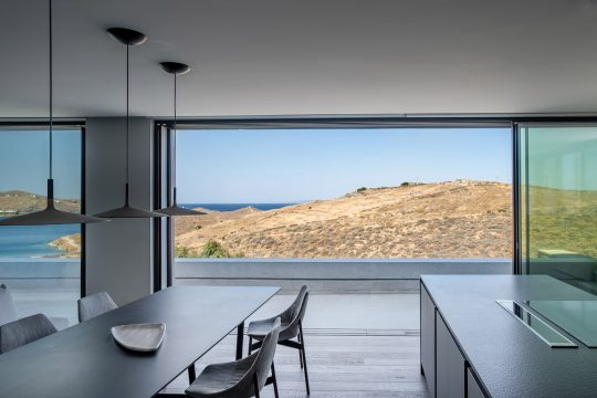 B2 house in Kea island designed by gnb architects