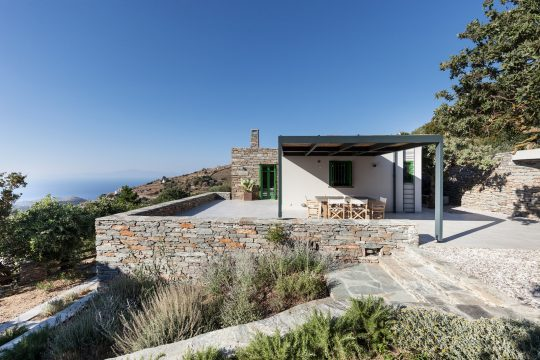 Vacation House in Tzia island by A2 Architects