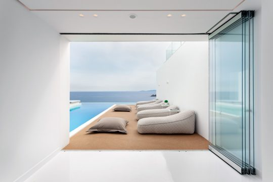Infinity View Hotel in Tinos island by Aristides Dallas Architects