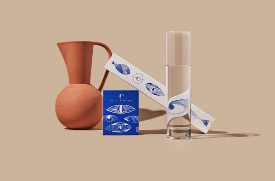 Stelios Parliaros seasonal chocolate packaging by ABOUT